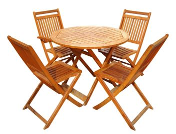 Tuker Table and Chairs Set