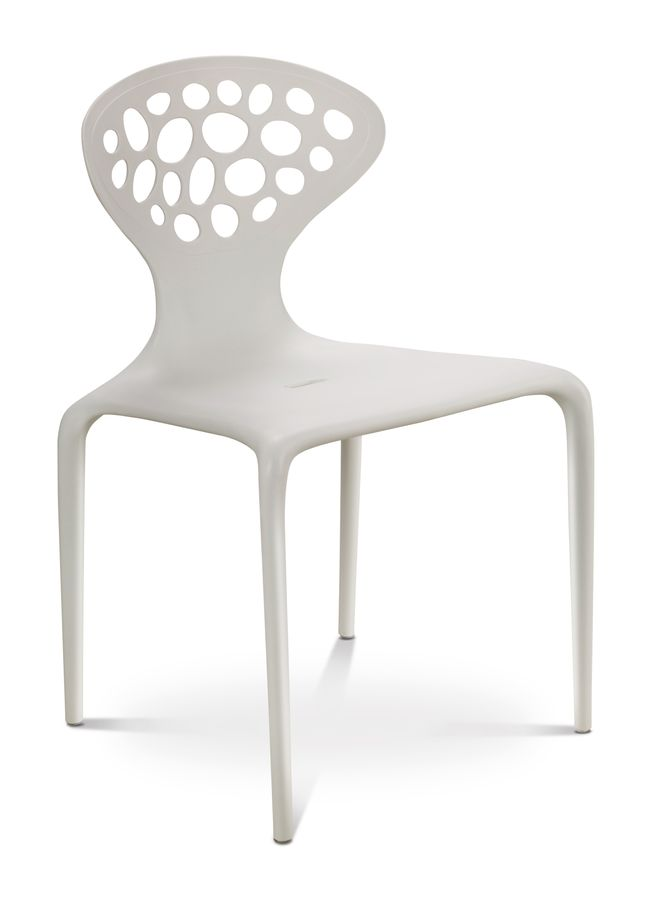 Lulu Chair White Side